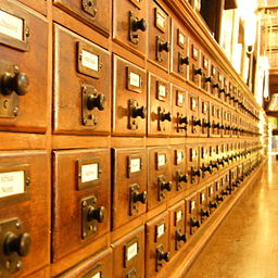 Blog Post Headlines are Not Card Catalogue Entries